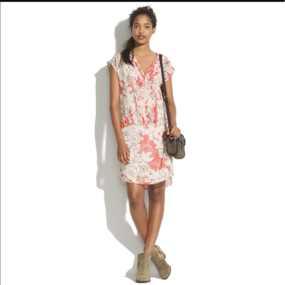 Madewell Dresses & Skirts - Madewell Broadway & Broom Floral Shift Dress